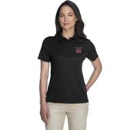 JRP Core 365 Ladies' Origin Performance Piqué Polo (Staff) - Black (JRP-216-BK)