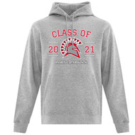 LOP ATC Adult Everyday Cotton Grad Hoodie - Athletic Heather (LOP-008-AH)