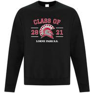 LOP ATC Everyday Cotton Crewneck Grad Sweatshirt - Black (LOP-009-BK)
