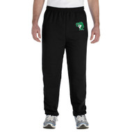 CGG Gildan Men's Heavy Blend 50/50 polycotton Sweat Pants - Black