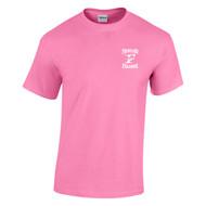 FCS Gildan Heavy Cotton Adult T-Shirt - Azalea (FCS-010-AZ)