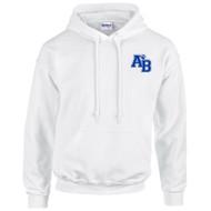 ABJ Gildan Adult 50/50 Hoodie - White (ABJ-004-WH)