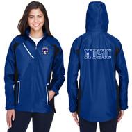 FBS Team 365 Women's Dominator Waterproof Jacket - Royal (FBS-214-RO)