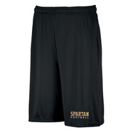 CCF Russell Men's Dri-Power Essential Performance Shorts with pockets - Black (CCF-103-BK)