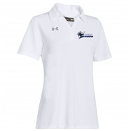 STA Under Armour Women's Performance  Polo - White
