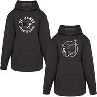 JAC ATC Youth Game Day Fleece Hooded Sweatshirt - Black (JAC-303-BK)