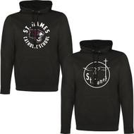 JAC ATC Adult Game Day Fleece Hooded Sweatshirt - Black (JAC-003-BK)