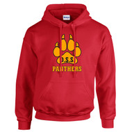 DNV Gildan Adult Heavy Blend Hooded Sweatshirt (Student) - Red (DNV-013-RE)