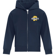 CTK ATC Youth Everyday Fleece Full Zip Hooded Sweatshirt (Design 2) - Navy (CTK-307-NY)