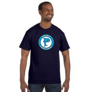 DMM Adult Gildan 100% Cotton T-Shirt - Navy