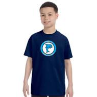 DMM Youth Gildan 100% Cotton T-Shirt - Navy