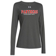 GPS Under Armour Ladies Long Sleeve Locker Tee - Carbon (GPS-022-CB)