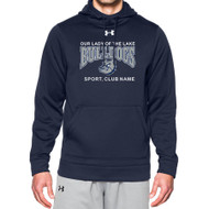 OLL Under Armour Men's Storm Fleece Hoody - Navy (OLL-001-NY)