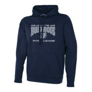 OLL Men's ATC Game Day Fleece Hoody - Navy