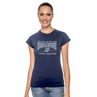 OLL Gildan Softstyle Junior Fit Ladies T-Shirt - Navy (OLL-033-NY)