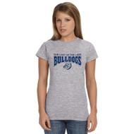 OLL Gildan Softstyle Junior Fit Ladies T-Shirt - Grey (OLL-033-GY)