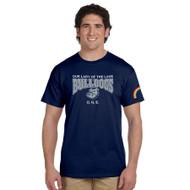 OLL ONE Club Gildan Ultra Cotton Men's T-Shirt - Navy (OLL-015-NY)