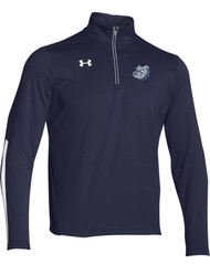 OLL Under Armour Men's Qualifier 1/4 Zip - Navy (OLL-006-NY)