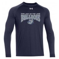 OLL Under Armour Men's Locker Long Sleeve - Navy (OLL-007-NY)