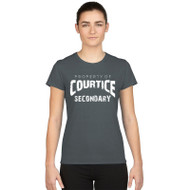 CSS Gildan Women's Performance T-shirt - Charcoal
