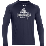 UA Mens Long Sleeve Locker Tee - Navy