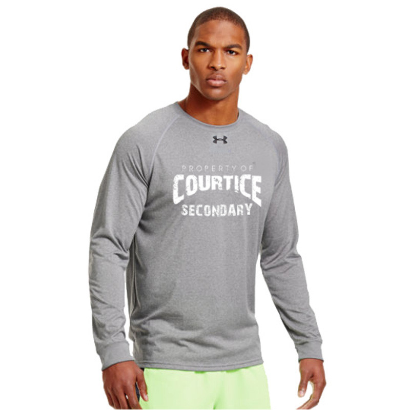 04e5bcbda CSS Under Armour Men's Locker Long Sleeves T-Shirt - True Grey ...