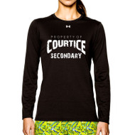 CSS Under Armour Women's Long Sleeve Locker Tee - Black