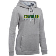 CSS Under Armour Women's Hustle Fleece Hoody - True Grey (CSS-023-GY)