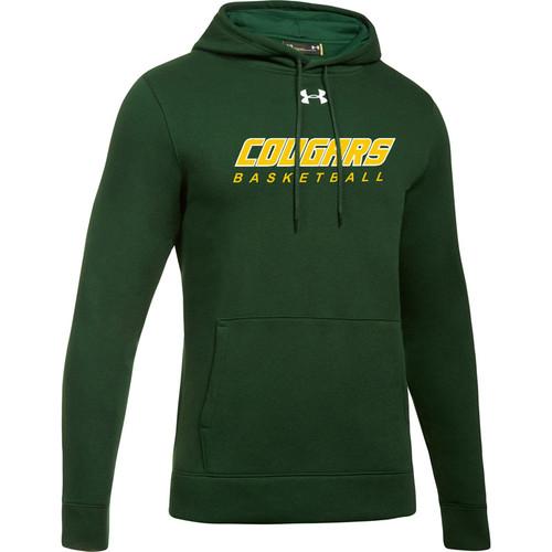 CSS Under Armour Men's Hustle Fleece Hoody - Dark Green (CSS-003-GN)