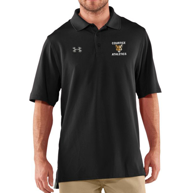 ec8cca9458e CSS Under Armour Men s Performance Polo - Black