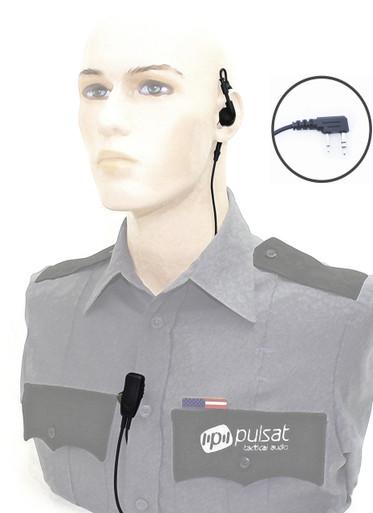 Pulsat EJ30 Commercial Series Earhook earpiece KPS-321