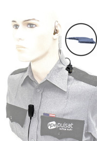 Pulsat TW47 Professional Series 2-Wire Surveillance Kit for Motorola HT750 HT1250 PR860