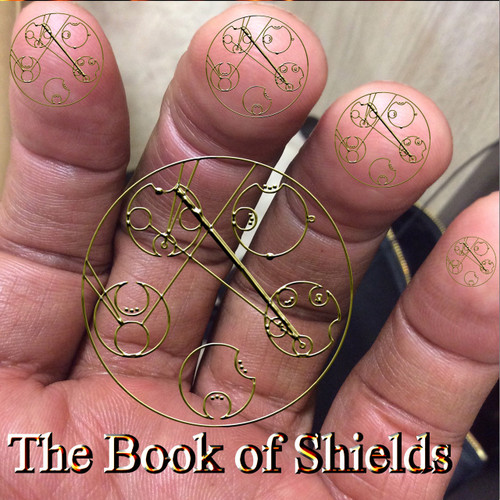 The Book of Shields                                                                                                                    Eyunymodon     The Book of Shields is the first of its kind.  In the picture above, you are witnessing the physical appearance of psychic shielding.  Shields are not usually visible. This process protects the user from attack, disease, and other worldly forces that would seek to cause harm.  Shielding is an ancient art that is seldom taught to mortals. We see the process in movies, tv, books, and other venues that pretend fantasy and entertainment.  However, the art of building and using shields is an ancient process that dates back many thousands of years.  Magicians, angels, elementals, gods, and countless other entities use shield for many different purposes.  Shields may protect against aging, poverty, attack, loss of life, injury, loss of fertility, disease, and a host of other processes that one might not believe.     Shielding is built into the genetic blueprint of most conscious life forms.  When you see that spark of light or billowing orb that floats out and around you, it is generally one of your many shield forms attempting to form.  We are not generally taught to use shields, but the subconscious, unconscious, and higher minds know them and use them without our knowledge. The Book of Shields brings this knowledge into the light. The genetic database of the shielding art is called the Eyunymodon.     It is an ancient genetic sequence that is tied to angelic words of power.  Each shield is to be visualized and spoken into being.  They are generally invisible to all but the most sensitive beings.  They work extraordinarily well and may be invoked in silence whenever needed.  Some people are able to erect shields that can defend against even the most ardent source of potential injury.  One of my favorite uses of a shield is to place it under an item and then to levitate the item with the power of the shield.      The Book of