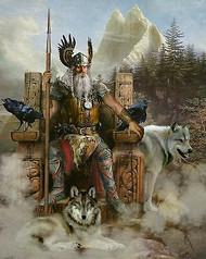 The God Odin - Stones of Power