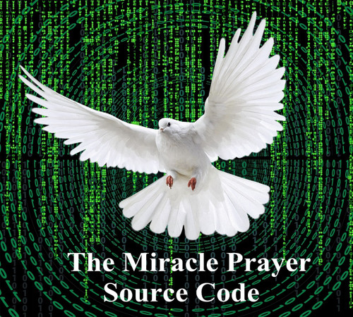 The Miracle Prayer Source Code       The Miracle is one of the most ancient prayers in the world.  It was written by The God Thoth thousands of years ago and has been recorded thousands of times.  I first memorized this prayer over 20 years ago and it was the first true magical tool that I ever discovered.  I saw cancers, infections, pain, swelling, money problems, infertility issues and a host of other problems respond to the application of this prayer as a holy tool.  I became a teacher and a minister after seeing this power and I have dedicated myself to exploring its potential.  This version of the prayer incorporates the source code from which the prayer itself emanates.   The God Thoth explained to me that this domain is maintained by a complex source code based on numbers.  The numbers are repeated by several elemental gods who maintain magic and healing energy in our domain through the use of code.  The code may be heard on number stations and is representative of the power needed to run our universe.  The source code of the Miracle Prayer is a base eight code, one line for each line of the prayer. In the recording, I speak one line of the prayer and then follow that line with the translated base eight number translation.  The recording is further backed by the sound of a giant star pulsing in the background.  This is our most powerful recording of this prayer.  Play this one in the background for an amazing effect.     Price: $39.95