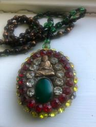 Jeweled Buddha Necklace