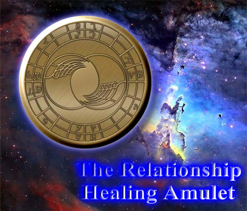 The Relationship                                       Attunement Medallion     Love is one of the most profound emotions known to human beings. There are many kinds of love, but many people seek its expression in a romantic relationship with a compatible partner (or partners). For many, romantic relationships comprise one of the most meaningful aspects of life, providing a source of deep fulfillment. The need for human connection appears to be innate—but the ability to form healthy, loving relationships is learned.   Some evidence suggests that the ability to form a stable relationship starts to form in infancy, in a child's earliest experiences with a caregiver who reliably meets the infant's needs for food, care, warmth, protection, stimulation, and social contact. Such relationships are not destiny, but they are theorized to establish deeply ingrained patterns of relating to others.   Failed relationships happen for many reasons, and the failure of a relationship is often a source of great psychological anguish. Most people have to work consciously to master the skills necessary to make relationships endure and flourish.   The Relationship Attunement Medallion is designed with angelic energy that helps relationships of all types flourish. Romantic relationships, family relationships, work relationships, sexual liaisons, etc. will all benefit from the power of this medallion.  Everyone in your circle, one-100+ people who wear the medallion will grow in harmony, connectedness, and attunement together when they begin using this medallion.   Regular Price: $400  Introductory price: $199.95