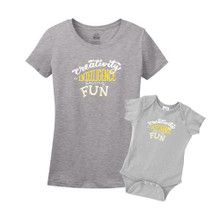 Mommy & Me Gray Set - Creativity