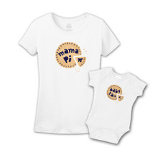 Mommy & Me White Set - Berry Pi and Tau