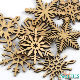 2013 Special Edition Lyptus Wood Snowflakes