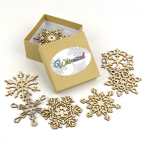 """Whimsical Collection"" Themed Snowflakes"