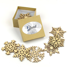 """Glacial Collection"" Themed Snowflakes"