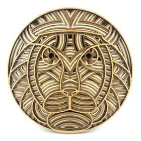 """Lambert the Lion"" - 3D Layered Wood Art - Version B"