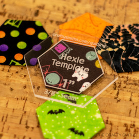 Hexie Template - 1 Inch Hexies