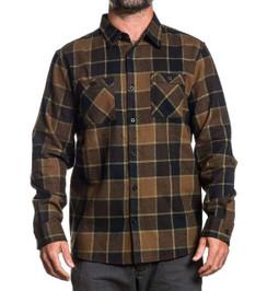 Sullen Woodland Flannel