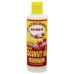 Beachcomber Budd's UNScented 100% Pure Coconut Oil 8oz
