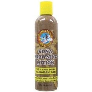 Hawaiian Blend Kona Browning Tanning Lotion 8oz