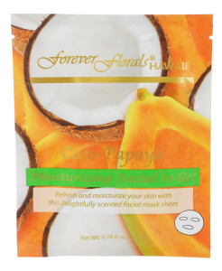 Forever Florals Hawaii Coconut Papaya Coco-Papaya Facial Face Mask 0.78oz