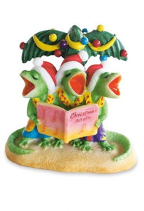 Hawaiian Hand-Painted Christmas Ornament - Geck The Halls with Geckos