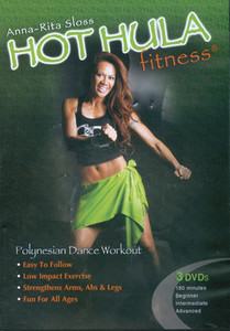 DVD - Hot Hula Fitness 3-DVD Set